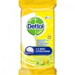 Dettol Citron a Limeta antibakteriální ubrousky na povrchy 32 ks