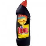 Dr. Devil 3v1 Wc čistič Lemon, 750 ml