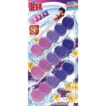 Dr. Devil WC Bicolor 5ball sunset blossom závěsný WC blok, 3 × 35 g