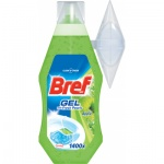 Bref WC Fresh Pearls Apple, gelový WC blok, svěží jablko, 360 ml