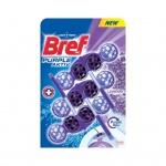 Bref WC Purple Aktiv Lavender, WC blok v kuličkách, vůně levandule, 3 x 50 g