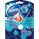 Domestos Power 5 Ocean WC tuhý blok, 55 g