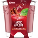 Glade Limited Edition Artic Apple Pie vonná svíčka, 129 g