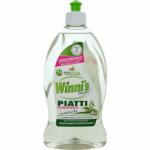 Madel Winnis Piatti Lime, hypoalergenní prostředek na ruční mytí nádobí, 500 ml