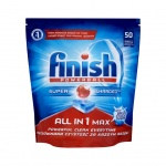 Finish All in 1 Max Soda, tablety do myčky, 50 kusů