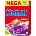 Somat All In 1 Lemon tablety do myčky 52 ks