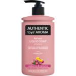 Authentic Toya Aroma cranberries & nectarine tekuté mýdlo, 400 ml