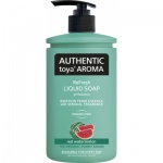 Authentic Toya Aroma red watermelon tekuté mýdlo, 400 ml