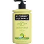 Authentic Toya Aroma ice lime & lemon tekuté mýdlo, 400 ml