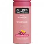 Authentic Toya Aroma cranberries & nectarine sprchový gel 400 ml