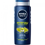 Nivea Men Energy sprchový gel, 500 ml
