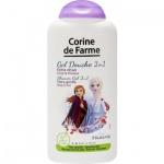 Corine De Farme Disney Frozen Princess 2v1 pěna do koupele a sprchový gel, 250 ml
