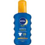Nivea Sun Protect & moisture OF 15 sprej na opalování, 200 ml