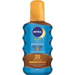 Nivea Sun Protect & bronze OF 20 olej na opalování podporující zhnědnutí, 200 ml