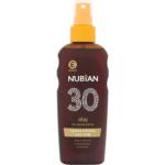 Nubian OF30 Sprej olej na opalování, 150 ml