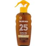 Nubian OF25 Sprej suchý olej na opalování, 200 ml