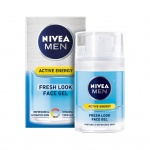 Nivea Men Active Energy, osvěžující pánský pleťový gel, 50 ml