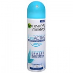 Garnier Mineral Pure Active antibakteriální antiperspitant pro ženy, deosprej 150 ml