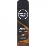 Nivea Men Deep Black Carbon Espresso antiperspirant pro muže, deosprej 150 ml