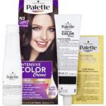 Schwarzkopf Palette Intensive Color Creme, barva na vlasy, N3 středně hnědá, 50 ml