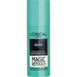 L\'Oréal Paris Magic Retouch, sprej pro okamžité zakrytí odrostů, černá, 75 ml