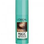 L\'Oréal Paris Magic Retouch, sprej pro okamžité zakrytí odrostů, oř. hnědá, 75 ml
