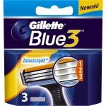 Gillette Blue 3, náhradní hlavice ke strojku, balení 3 ks