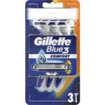 Gillette Blue 3 jednorázové holicí strojky, balení 3 ks