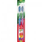 Colgate Twister, zubní kartáček, střední tvrdost, balení 1+1