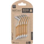 SOFTdent Eco mezizubní kartáček XS zahnutý 0,4 mm, 10 ks