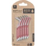 SOFTdent Eco mezizubní kartáček S zahnutý 0,5 mm, 10 ks
