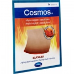 Cosmos hřejivá náplast s kapsaicinem, klasická, rozměry 12,5 x 15 cm, 1 kus