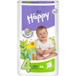 Bella Happy Maxi (4), dětské pleny jednorázové, pro děti od 8 do 18 kg, balení 46 ks