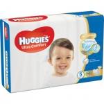 Huggies Ultra Comfort Jumbo 5 dětské pleny 12 až 22 kg, 42 ks