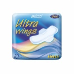 Micci Ultra Wings dámské vložky s křidélky, 10 ks