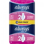 Always Ultra Super Plus Duo pack dámské vložky, 16 ks