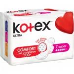 Kotex Ultra Super dámské vložky, 7 ks
