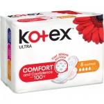 Kotex Ultra Normal dámské vložky, 8 ks