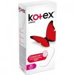 Kotex Slip Super Slim Liners slipové vložky intimky, 20 ks