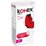 Kotex Slip Deo Super Slim Liners slipové vložky intimky, 20 ks