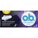 O.B. ProComfort Night Normal tampony, 16 ks