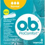 O.B. ProComfort Normal tampony, 8 ks