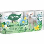 Tento Camomile letní edice 3vrstvý toaletní papír, role 150 útržků, 8 rolí
