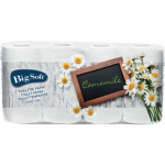 Fine & Soft Heřmánek, 3vrstvý parfémovaný toaletní papír, 150 útržků v roli, balení 8 rolí