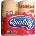 Quality Standard 1vrstvý toaletní papír, návin role 17 m, 4 role