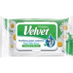 Velvet Camomile & Alove Vera vlhčený toaletní papír, 42 ks