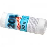Alufix Folifix pytle na odpadky, silné 7 µ, rozměr 50 x 45 cm, objem 20 l, balení 30 ks