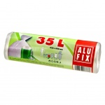 Alufix pytle na odpadky, silné 10 µ, rozměr 60 x 50 cm, objem 35 l, balení 30 ks