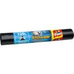 Fino Power pytle na odpad, 40 µ, 77 × 110 cm, 120 l, 10 ks