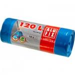 Alufix Premium pytle na odpadky, zatahovací, silné 23 µ, rozměr 70 × 100 cm, objem 120 l, balení 10 ks